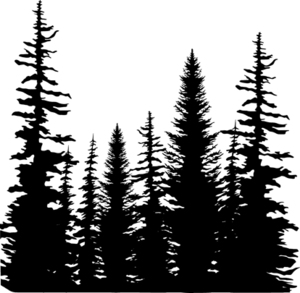 Forest Silhouette Clipart Clipground