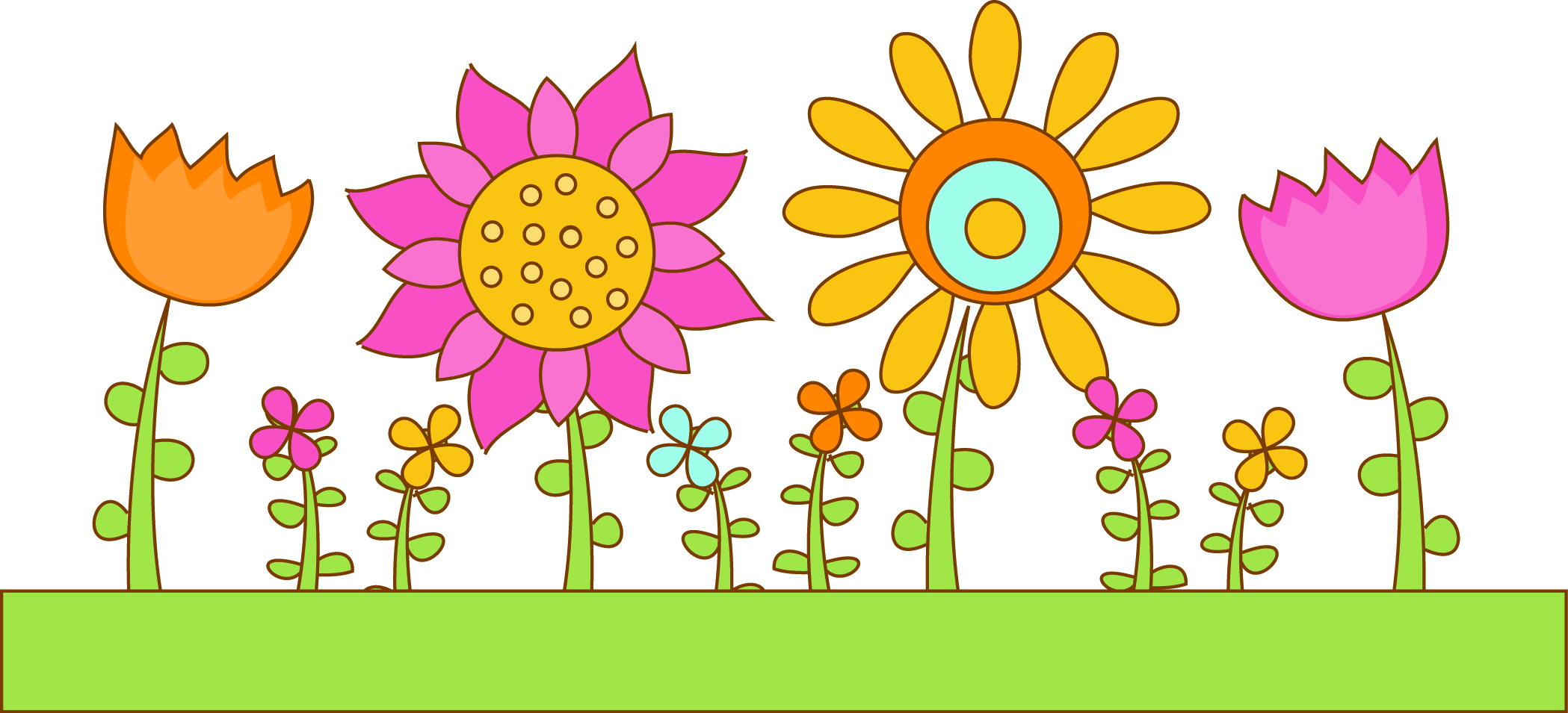 Spring Garden Clipart
