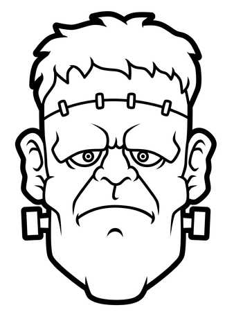 frankenstein clipart black and white 10 free Cliparts