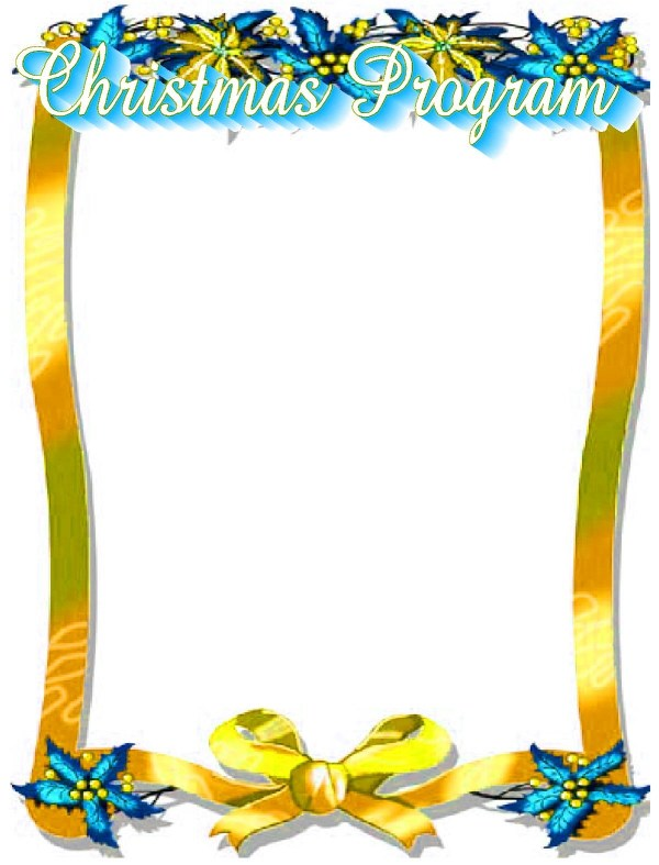 Free Christian Christmas Border Clip Art - Clipground