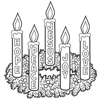free christian clipart advent wreath 20 free Cliparts