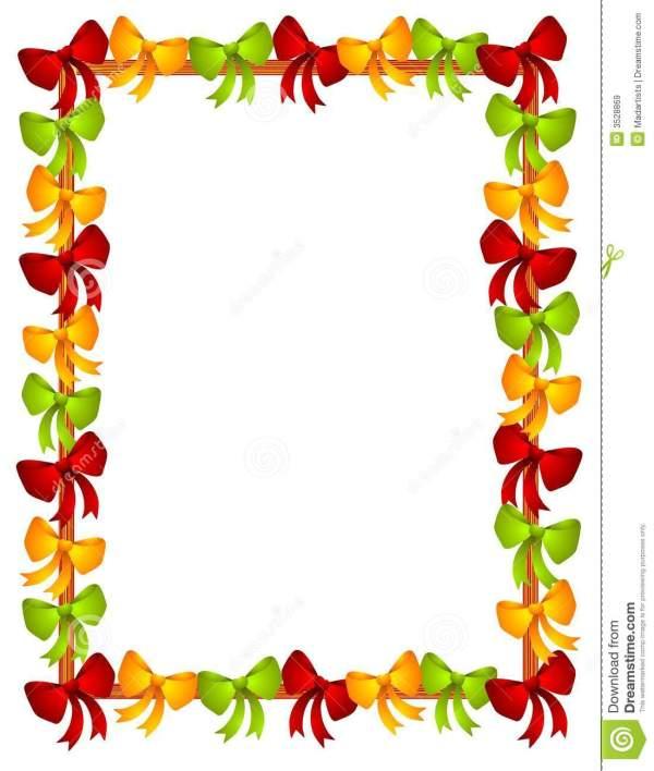 free christmas border frame clipart