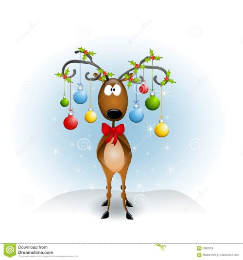 small resolution of free christmas reindeer clipart clipground