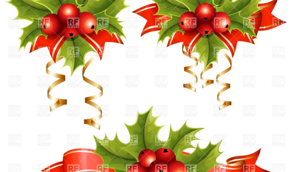 Free Clip Art Christmas Holly Border Clipground