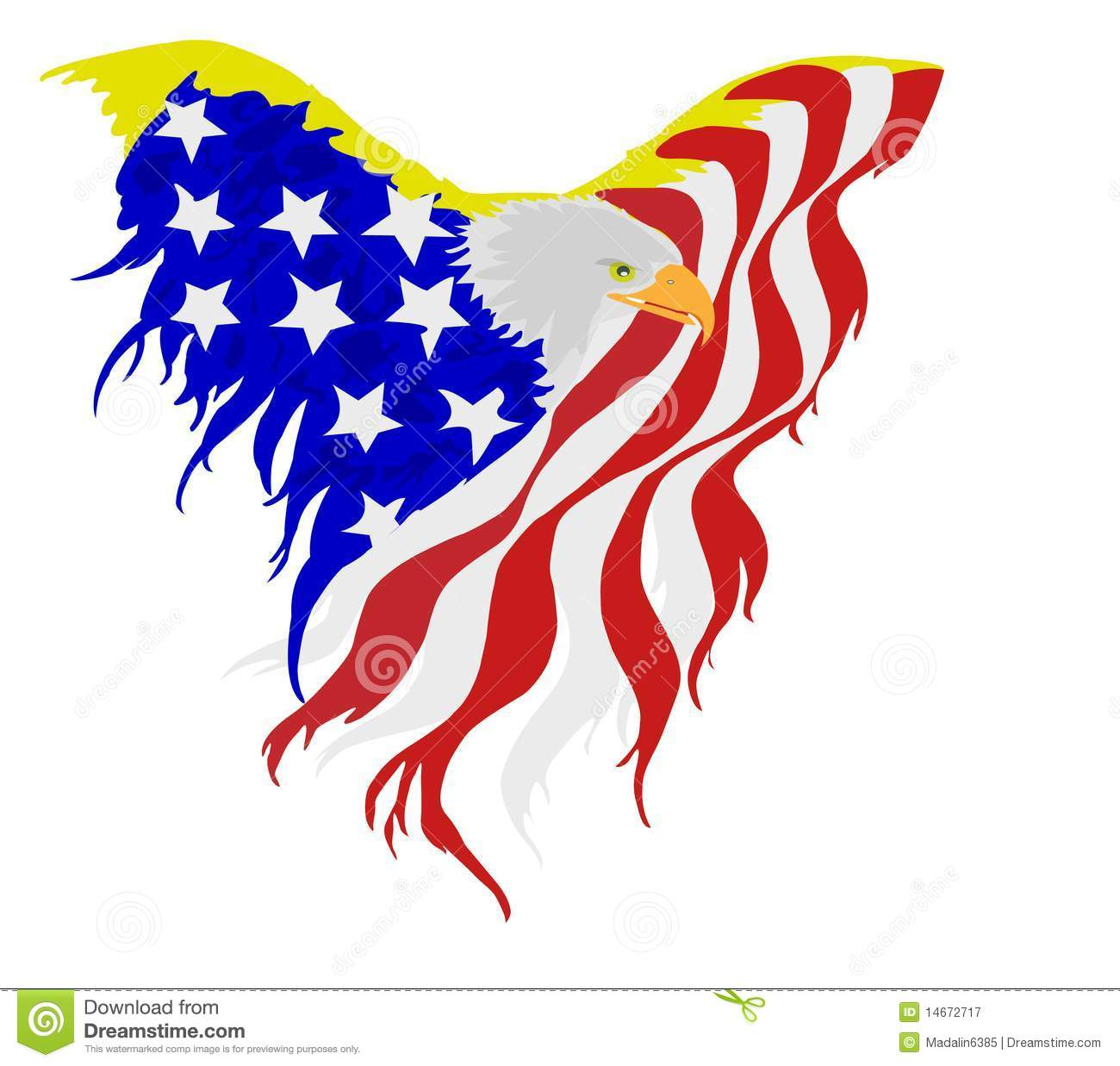 hight resolution of american bald eagle flag free patriotic clipart