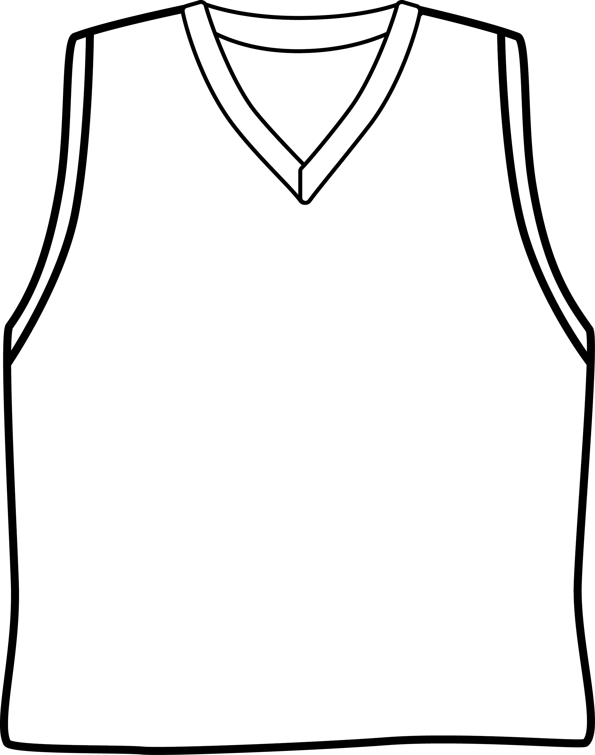 Basketball Jerseys Clipart 20 Free Cliparts