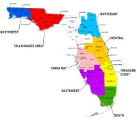 free clipart map of florida - Clipground