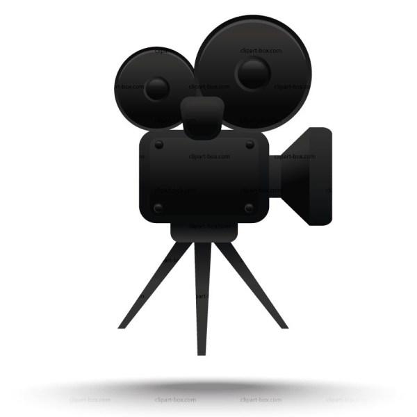 Free Clipart Movie Camera - Clipground
