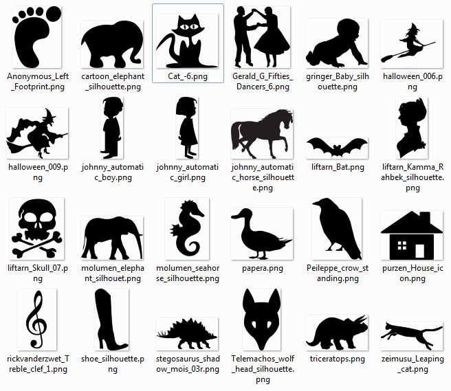 Download free clipart software download to use with my silhouette ...