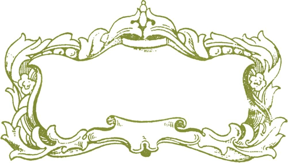 medium resolution of free fancy frame clip art
