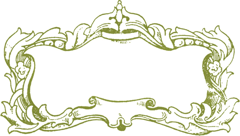 hight resolution of free fancy frame clip art