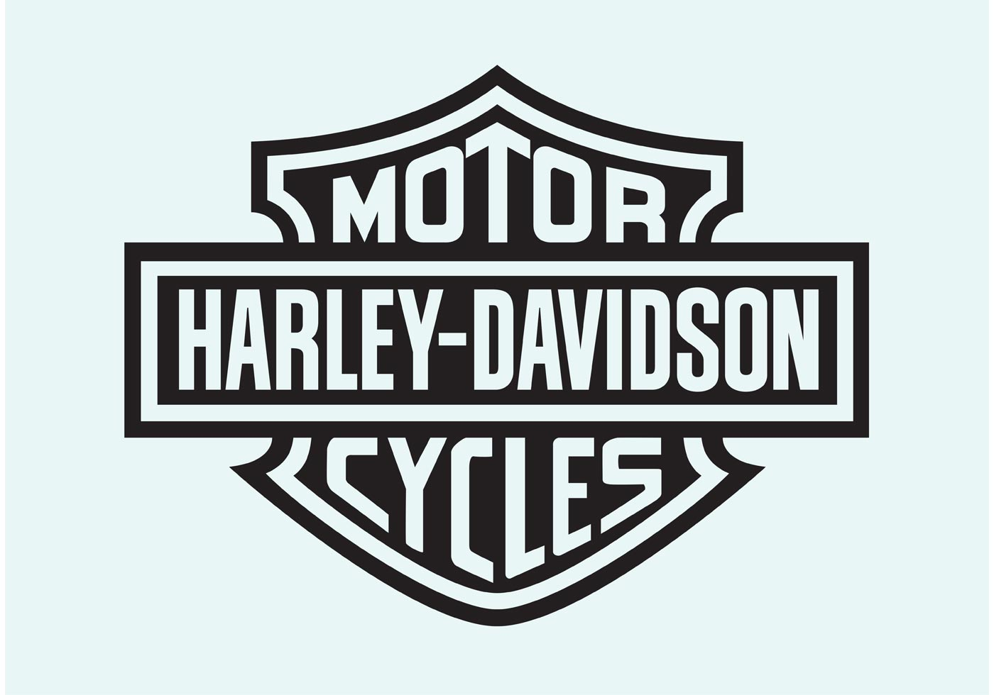 hight resolution of harley davidson motorcycle free vector art