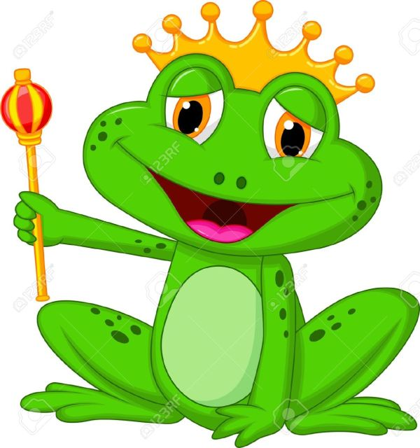 frog king clipart - clipground