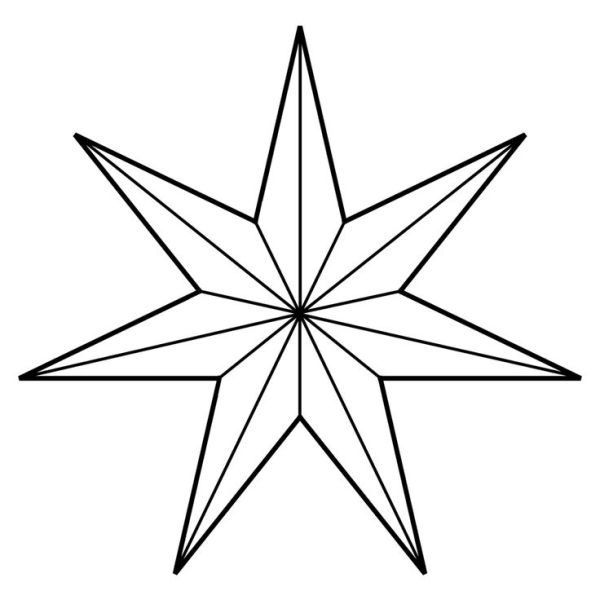 eight point star clipart
