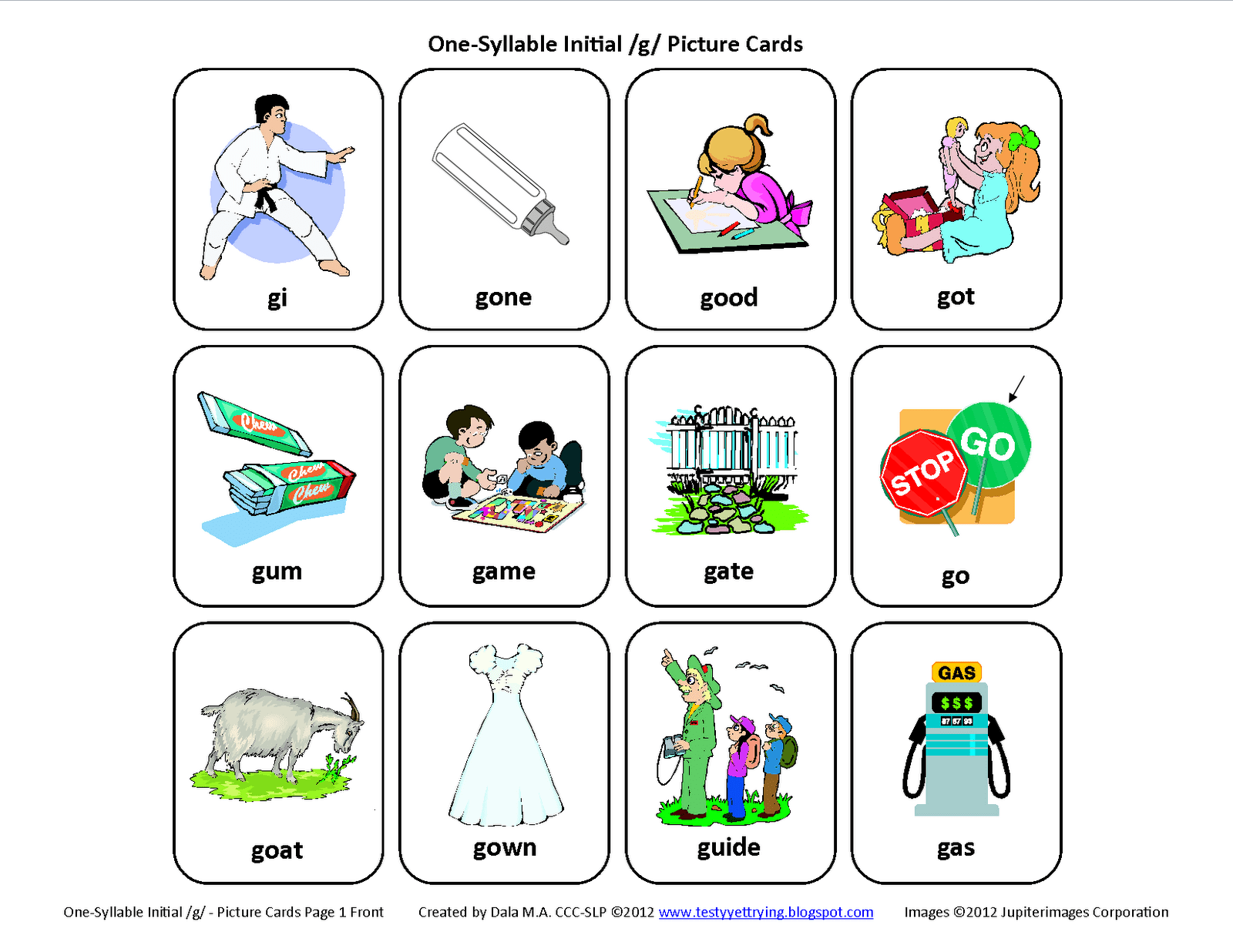 G Words Clipart 20 Free Cliparts