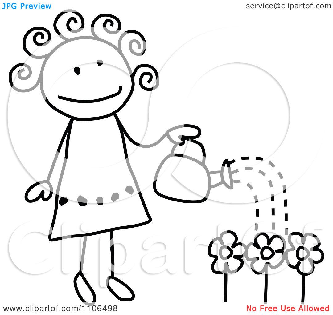 Garden Clipart Drawing
