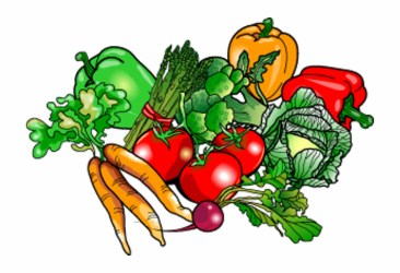 clipart vegetables garden transparent vegetable fruits clipground