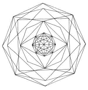 geometric line drawing geometry designs lines drawings rose shapes simple google clipground deviantart getdrawings