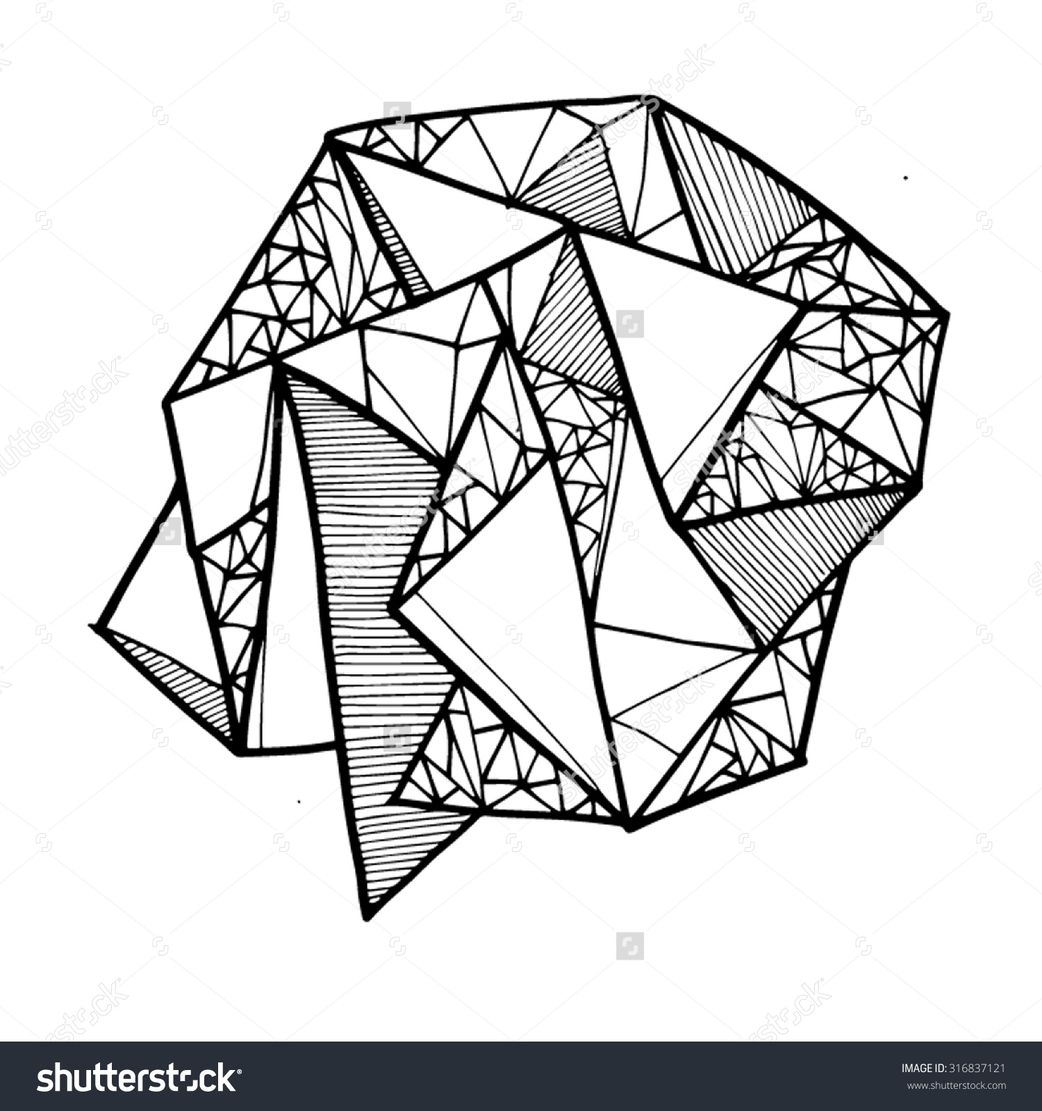 Geometry Line Art 20 Free Cliparts