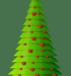 christmas tree clip art 19 [ 2915 x 4917 Pixel ]