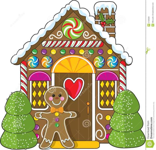 gingerbread house clipart - clipground