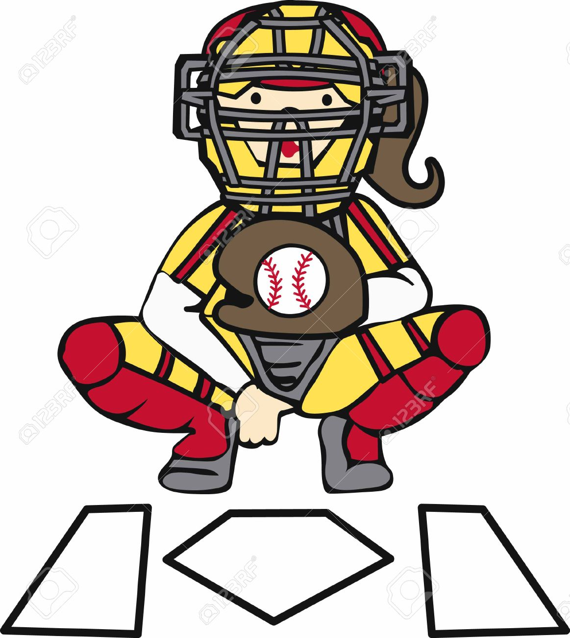 hight resolution of 210 girls softball stock illustrations cliparts and royalty free