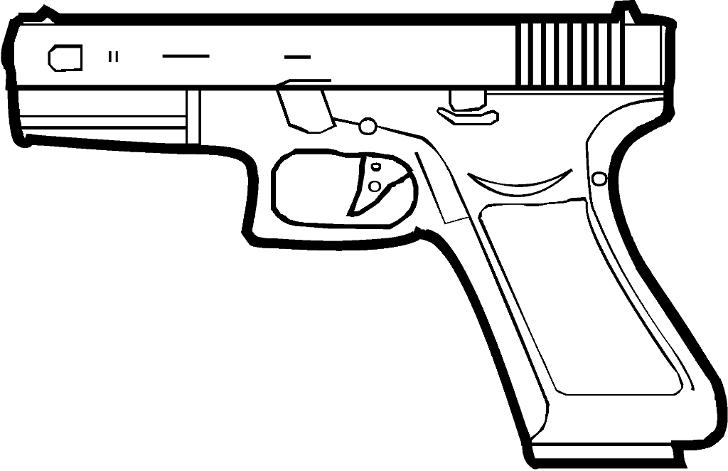 Glock Stock Clip Glockig Clipart Clipground