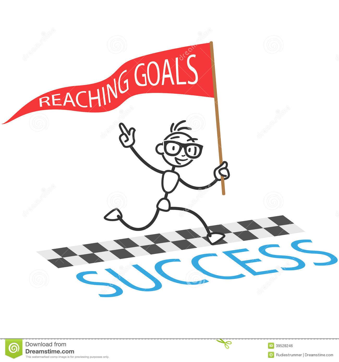 Goal Setting Clipart