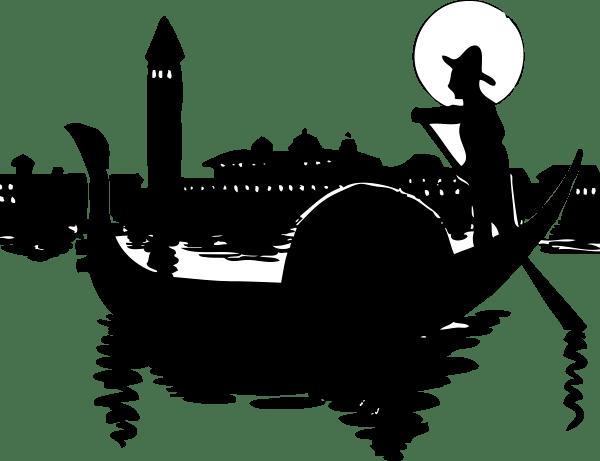 Gondolier Clipart - Clipground