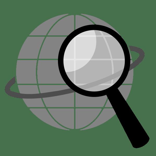 Search Icon Clip Art