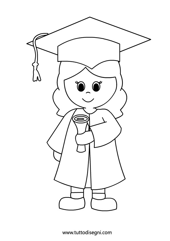 graduation black and white clipart 20 free Cliparts