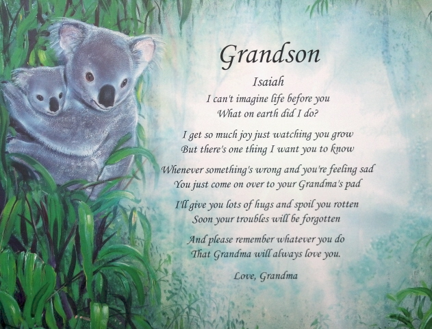 Grandson Poems Clipground