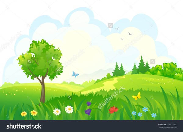 green meadow clipart - clipground