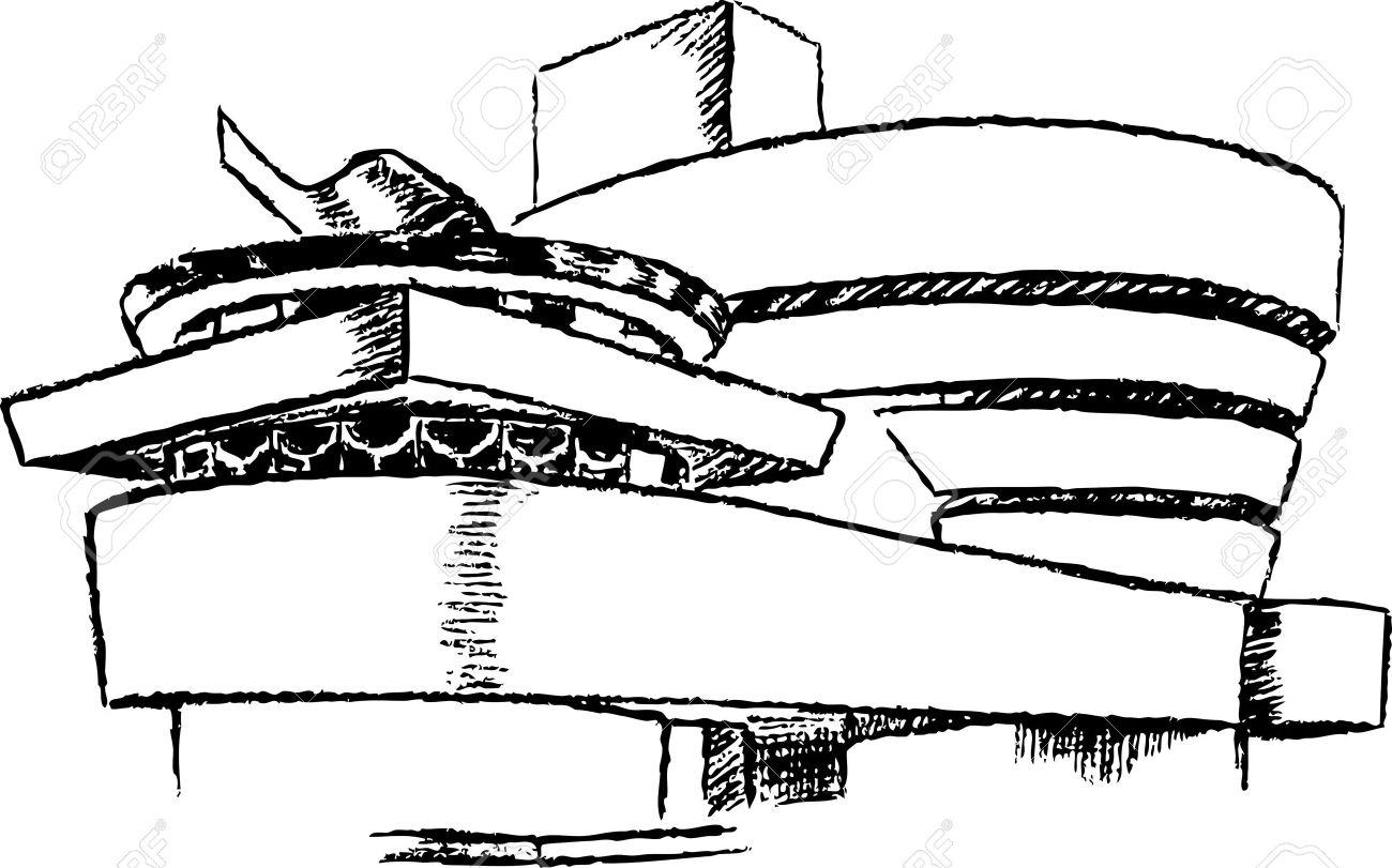 Guggenheim Museum Clipart