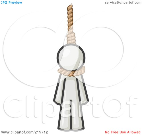 small resolution of hanged clipart