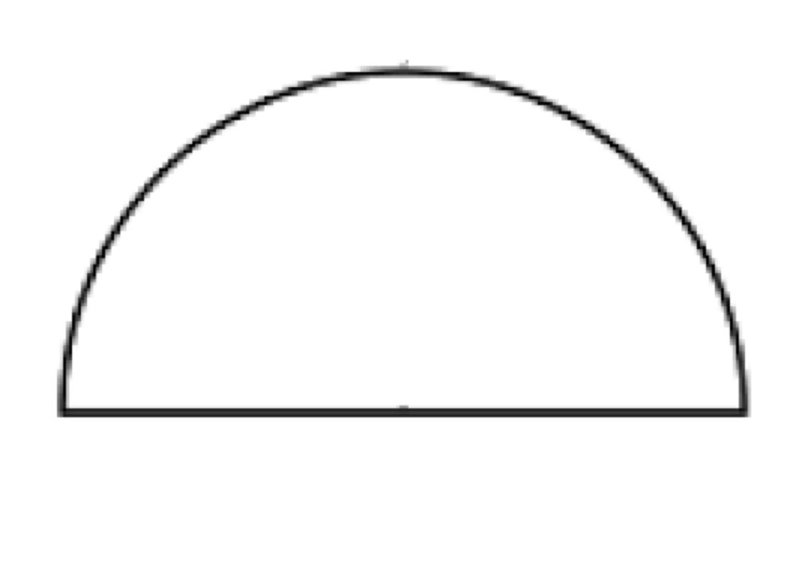 Half Circle Clipart