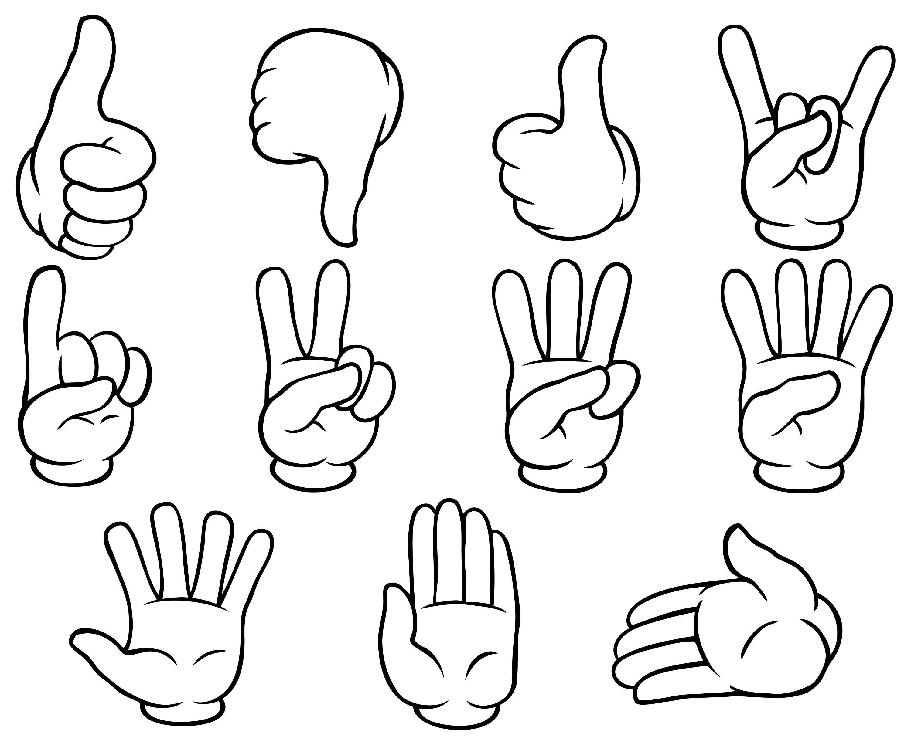 Hand Gestures Clipart 10 Free Cliparts