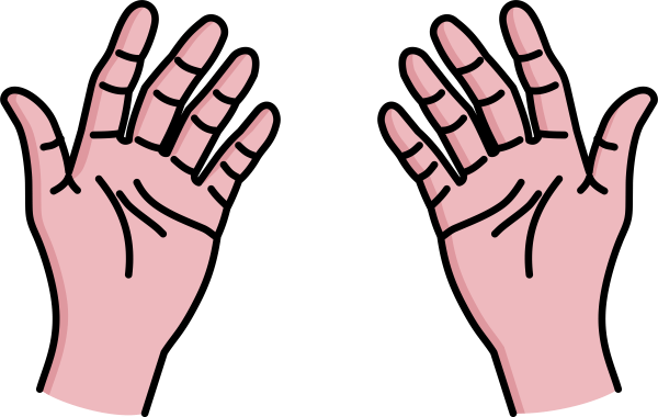 hands clipart - clipground