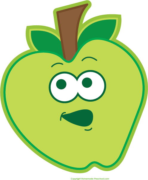 happy apple clipart - clipground