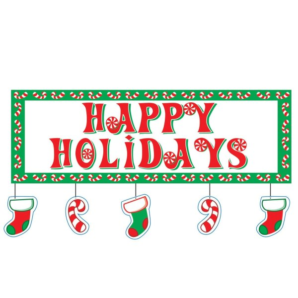 happy holidays clipart - clipground