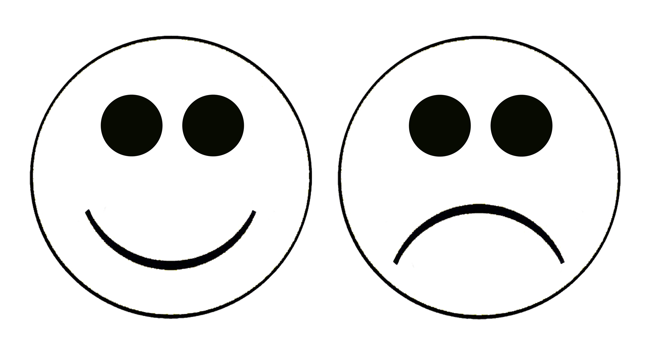 Happy Sad Face Clip Art 20 Free Cliparts