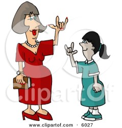 teacher student clipart hugging language hearing sign impaired using happy cartoon helping son homework djart poster printable clipground illustration tassle