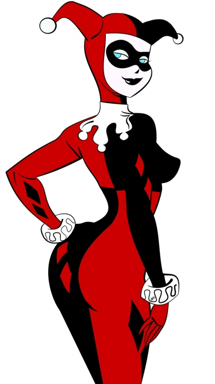 hight resolution of harley quinn iphone clipart 1