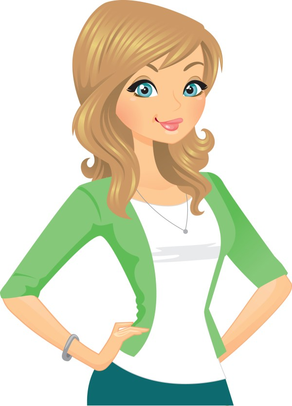 healthy woman clipart - clipground