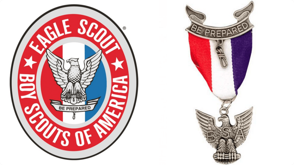 medium resolution of showing post media for boy scout eagle symbol