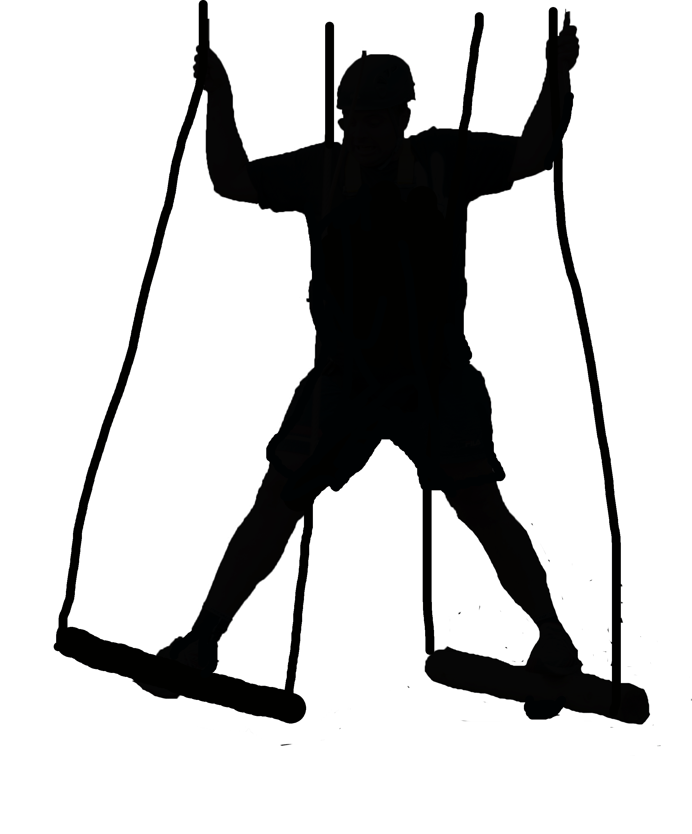 High Ropes Clipart