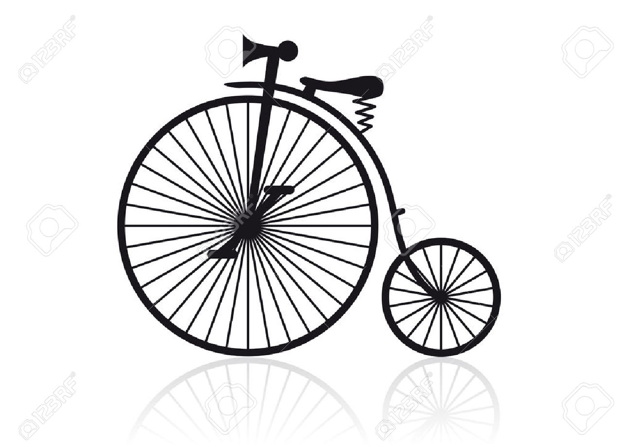 High Wheel Bicycle Clipart 20 Free Cliparts
