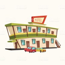 Highway Hotel Clipart - Clipground