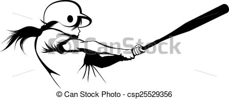 softball batter clipart black and white 20 free Cliparts
