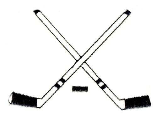 small resolution of hockey sticks clipart